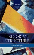 Cover for Rigor and Structure