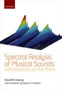 Cover for Spectral Analysis of Musical Sounds with Emphasis on the Piano