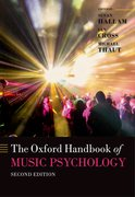 Cover for The Oxford Handbook of Music Psychology