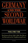 Cover for Germany and the Second World War Volume VIII