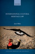 Cover for International Cultural Heritage Law