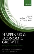 Cover for Happiness and Economic Growth