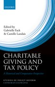Cover for Charitable Giving and Tax Policy