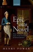 Cover for Epic into Novel