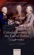 Cover for Colonial America and the Earl of Halifax, 1748-1761