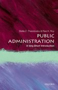 Cover for Public Administration: A Very Short Introduction - 9780198724230