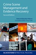 Cover for Crime Scene Management and Evidence Recovery