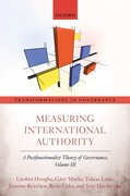 Cover for Measuring International Authority - 9780198724490