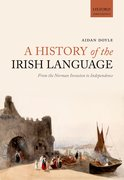 Cover for A History of the Irish Language