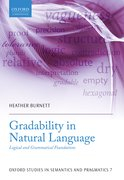 Cover for Gradability in Natural Language