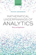 Cover for Mathematical Underpinnings of Analytics