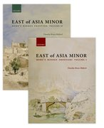 Cover for East of Asia Minor - 9780198725176
