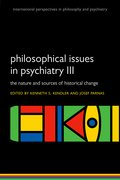 Cover for Philosophical issues in psychiatry III