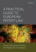 Cover for A Practical Guide to European Patent Law