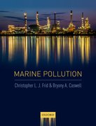 Cover for Marine Pollution - 9780198726296