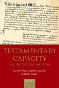 Cover for Testamentary Capacity