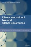 Cover for Private International Law and Global Governance