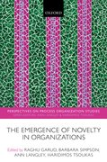 Cover for The Emergence of Novelty in Organizations