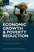 Cover for Economic Growth and Poverty Reduction in Sub-Saharan Africa