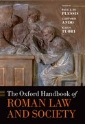 Cover for The Oxford Handbook of Roman Law and Society - 9780198728689