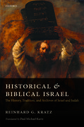 Cover for Historical and Biblical Israel