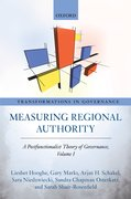 Cover for Measuring Regional Authority