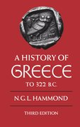 Cover for A History of Greece to 322 BC