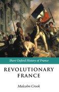 Cover for Revolutionary France