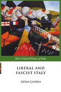Cover for Liberal and Fascist Italy