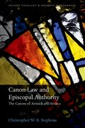 Cover for Canon Law and Episcopal Authority