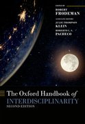 Cover for The Oxford Handbook of Interdisciplinarity - 9780198733522