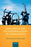 Cover for Parliaments and the European Court of Human Rights
