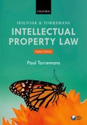 Cover for Holyoak and Torremans Intellectual Property Law