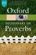 Cover for Oxford Dictionary of Proverbs