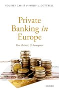 Cover for Private Banking in Europe