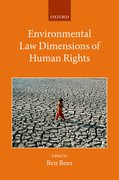 Cover for Environmental Law Dimensions of Human Rights