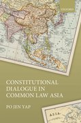 Cover for Constitutional Dialogue in Common Law Asia