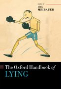 Cover for The Oxford Handbook of Lying