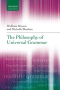 Cover for The Philosophy of Universal Grammar