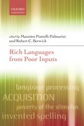 Cover for Rich Languages From Poor Inputs