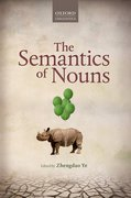 Cover for The Semantics of Nouns
