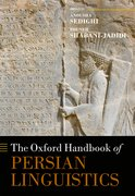 Cover for The Oxford Handbook of Persian Linguistics