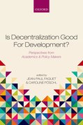 Cover for Is Decentralization Good For Development?