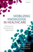 Cover for Mobilizing Knowledge in Healthcare