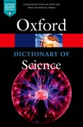 Cover for A Dictionary of Science - 9780198738374