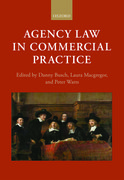 Cover for Agency Law in Commercial Practice