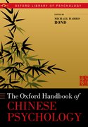 Cover for Oxford Handbook of Chinese Psychology
