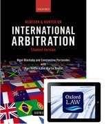 Cover for Redfern and Hunter on International Arbitration (paperback and eBook)