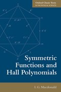 Cover for Symmetric Functions and Hall Polynomials