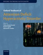 Cover for Oxford Textbook of Attention Deficit Hyperactivity Disorder
